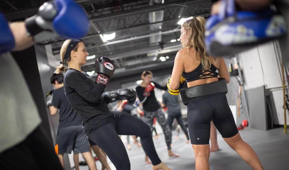 kickboxing training vaughan 1